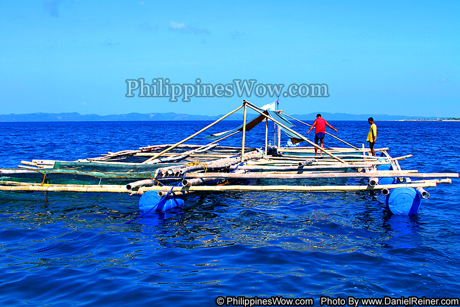 Philippine Bamboo Barge