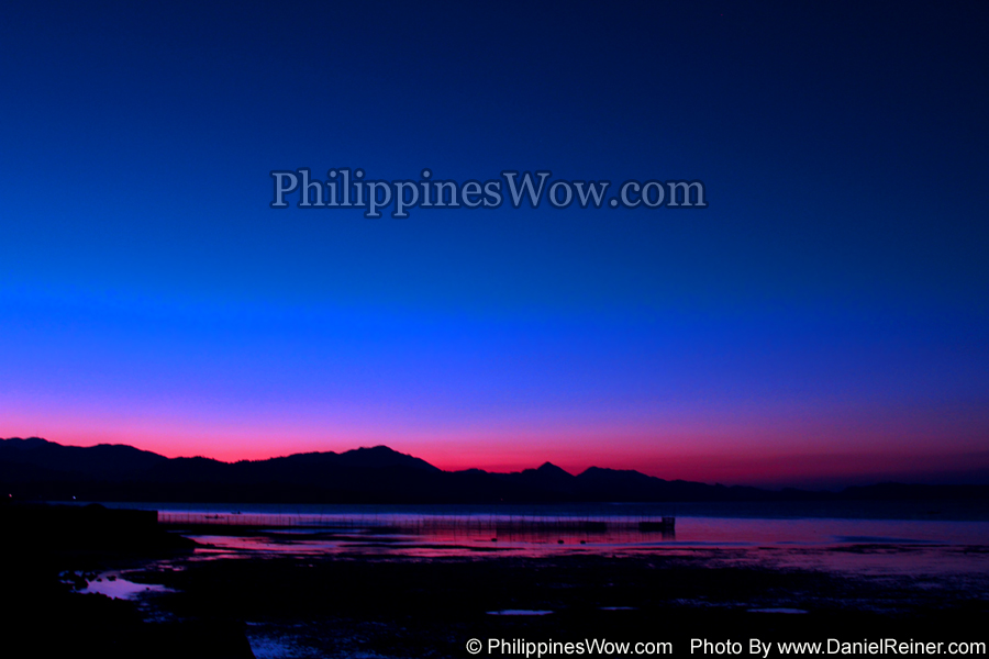 Philippine Blue Sunset
