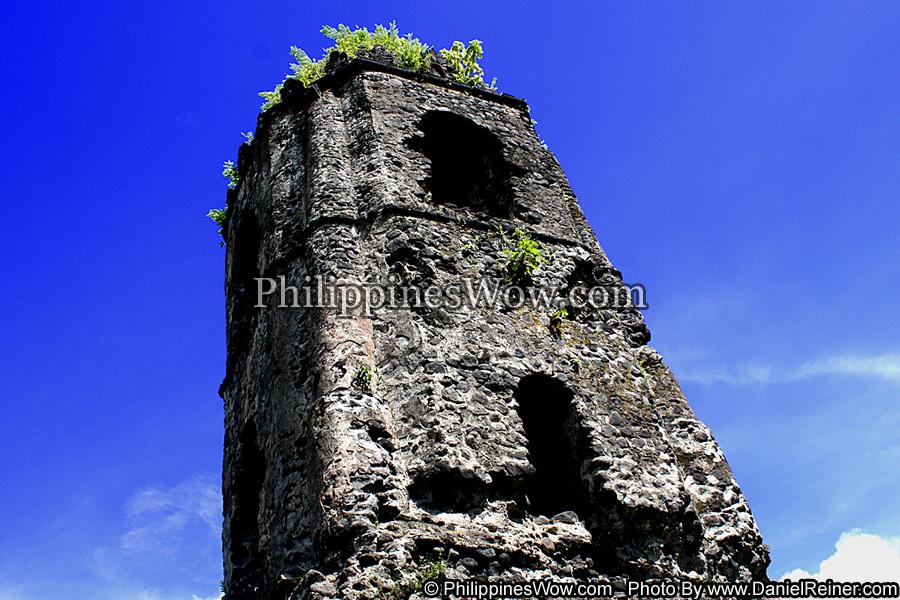 Cagsawa Ruins in Bicol