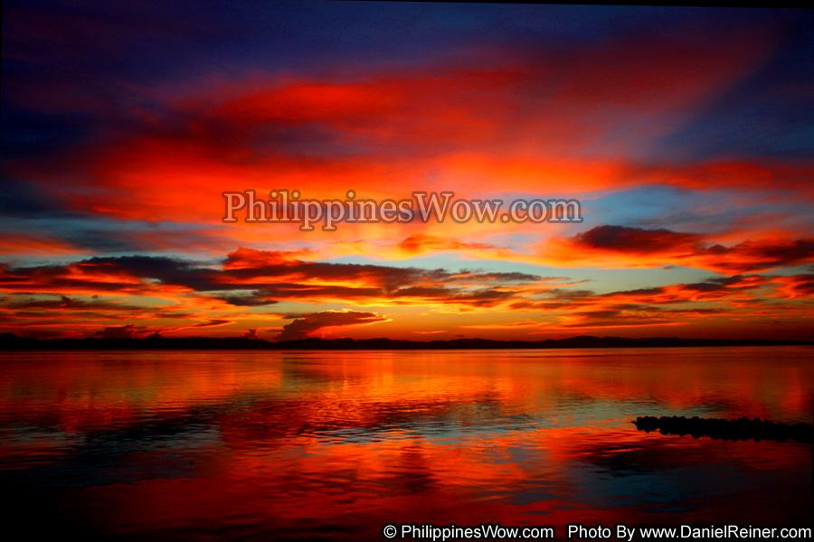 Calm Philippine sunrise