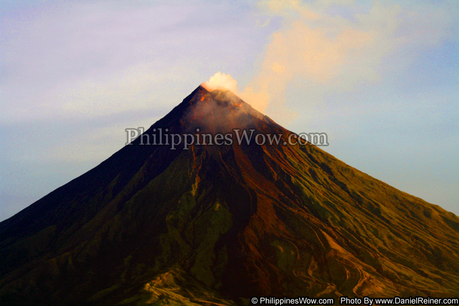 Mt. Mayon Volcano in the Philippines