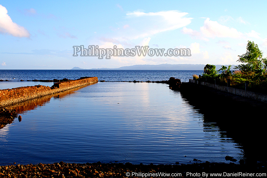 Fish Pond in the Philippines