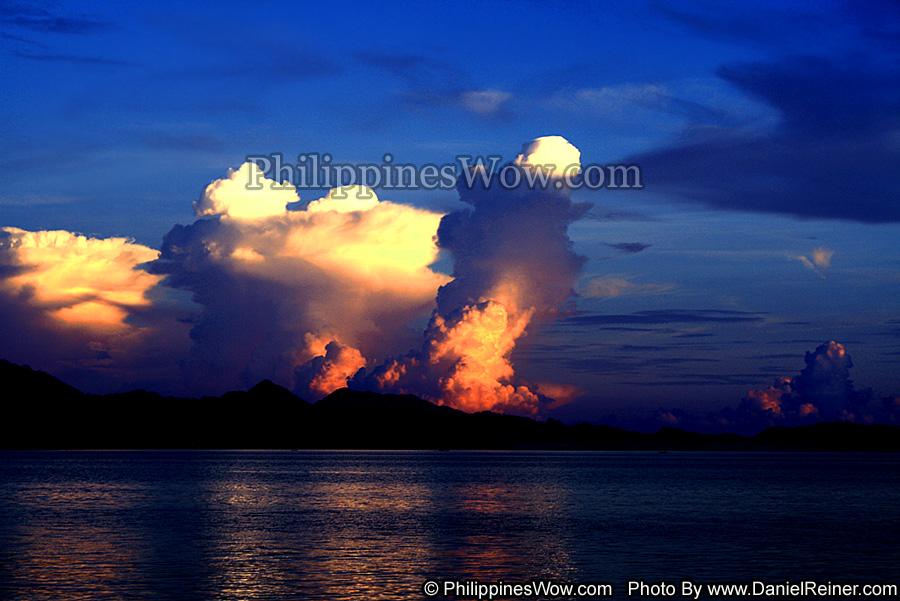 Scenic Visayan Sunset